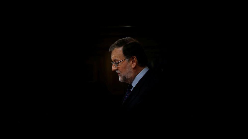 Foto: Mariano Rajoy durante el debate de investidura en el Congreso. (Reuters)