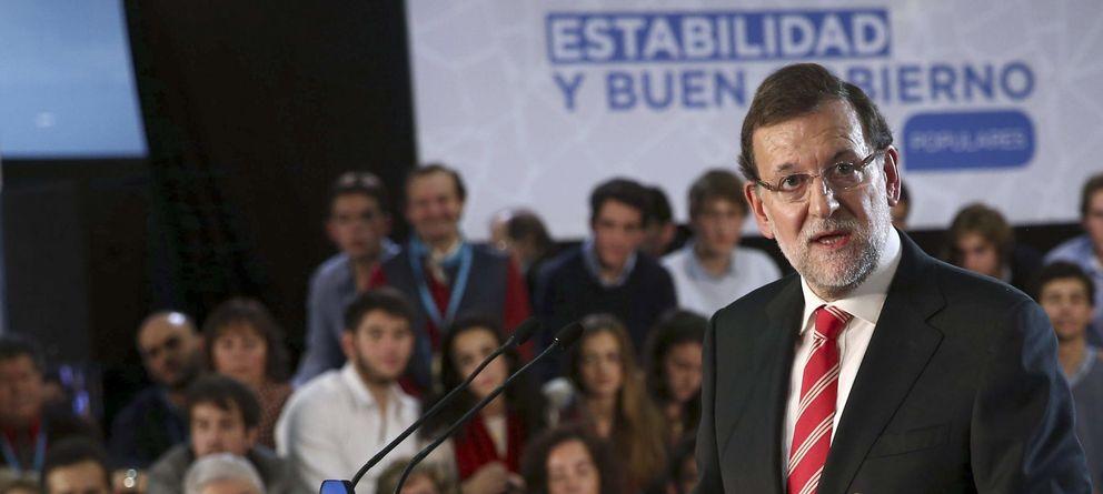 Foto: Mariano Rajoy en Barcelona. (Efe)