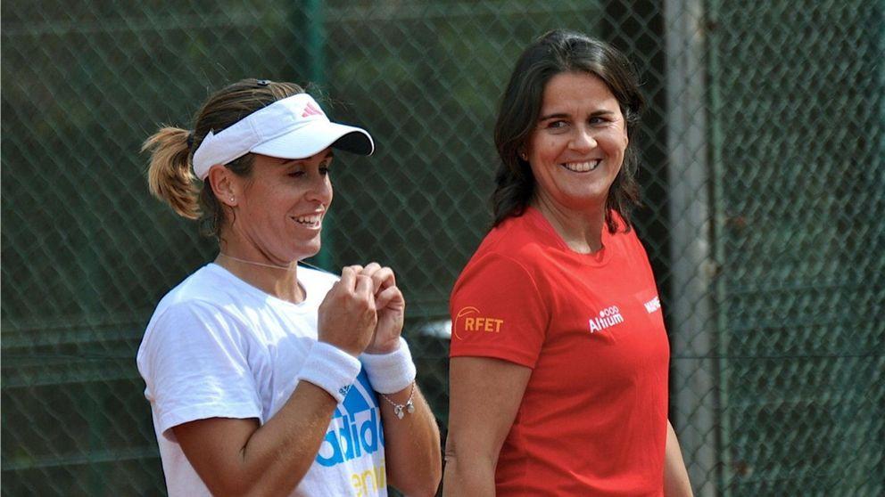 Sergi Bruguera y Anabel Medina, nuevos capitanes de Copa Davis y Federación