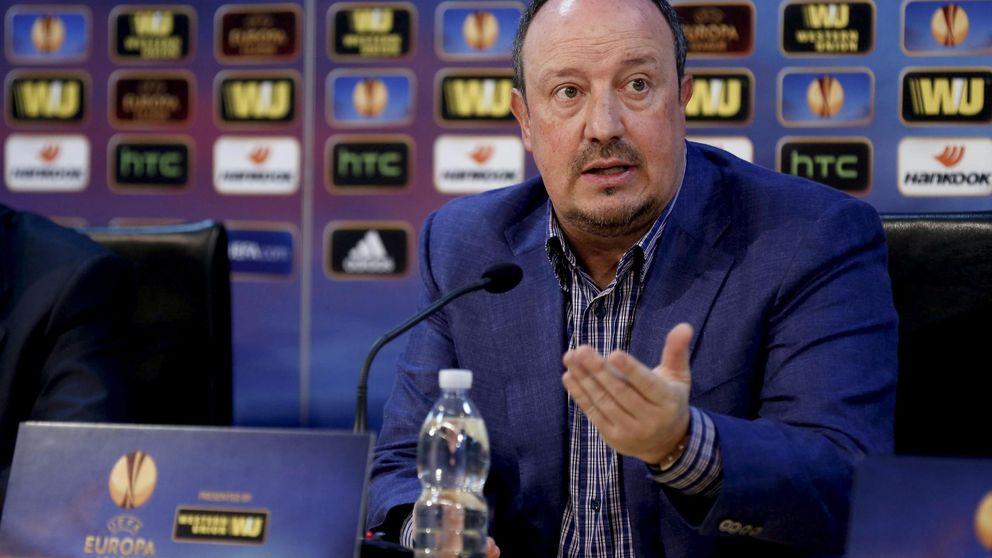 Benítez da el primer paso en dirección al Madrid y anuncia su adiós al Nápoles
