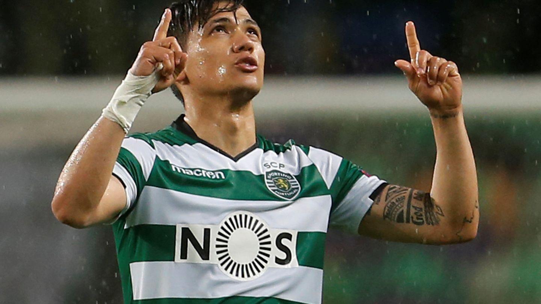 El goleador del partido, Fredy Montero. (Reuters)