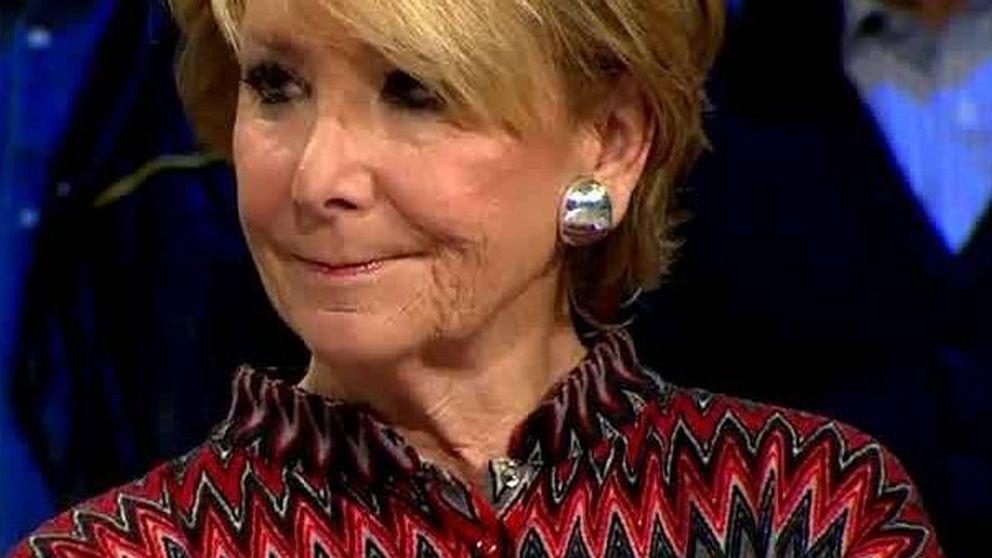 Esperanza Aguirre descoloca a Iñaki López con una frase sobre Sánchez