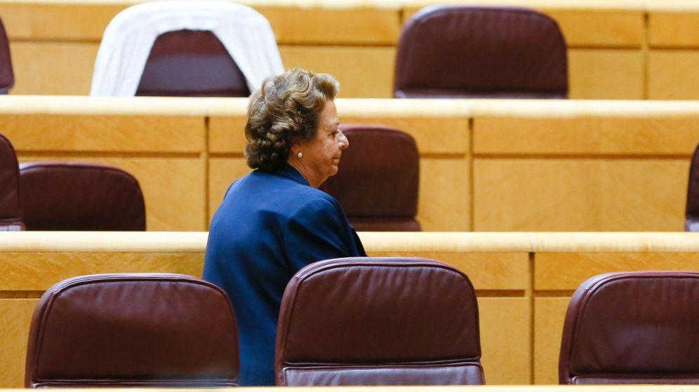 Foto: Rita Barberá en un pleno del Senado. (Efe)