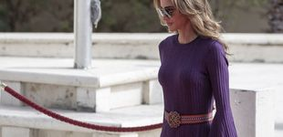 Post de Rania de Jordania y el vestido reciclado con el que eclipsa el debut de su hijo pequeño