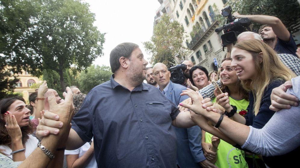 Foto: El 'vicepresident' económico de la Generalitat, Oriol Junqueras. (EFE)