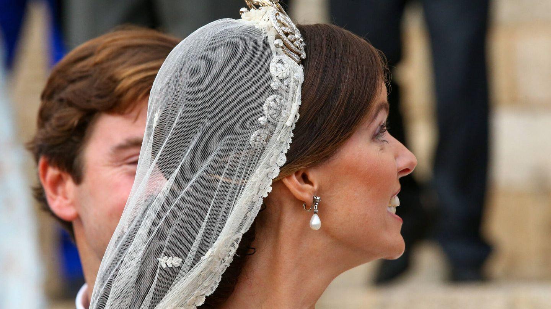 Detalle de la tiara. (Gtres)