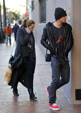 Foto: Miley Cyrus sale con el exnovio de Amy Winehouse
