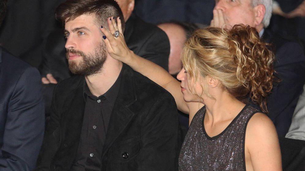 Foto: Shakira y Gerard Piqué en una imagen de archivo. (Gtres)
