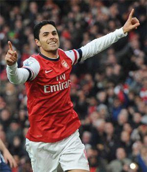 Arteta y Silva, protagonistas en las victorias del Arsenal y el City