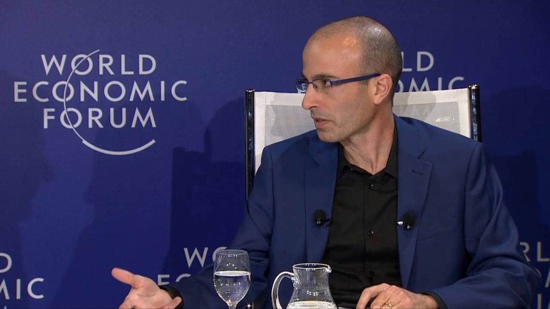 Harari, en Davos.