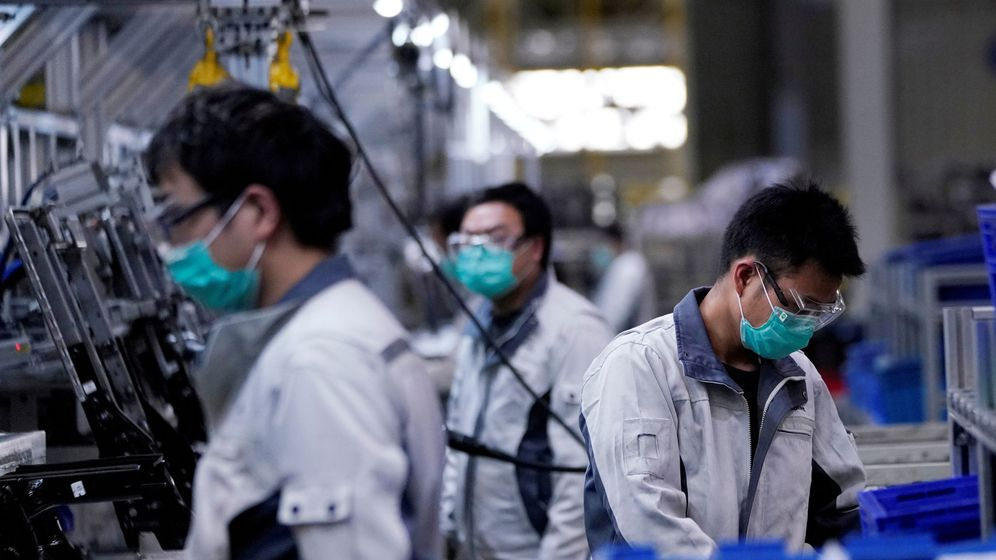 Foto: Foto de archivo de una fábrica en China. (Reuters)