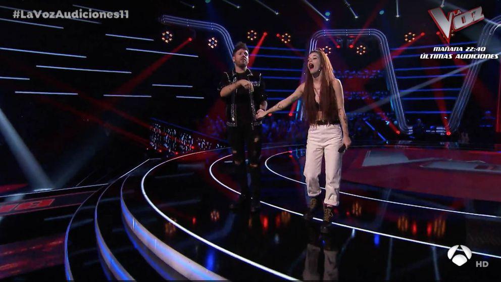 La 'repescada' Sandra Groove vuelve a 'La Voz' para cerrar el equipo de Pablo López
