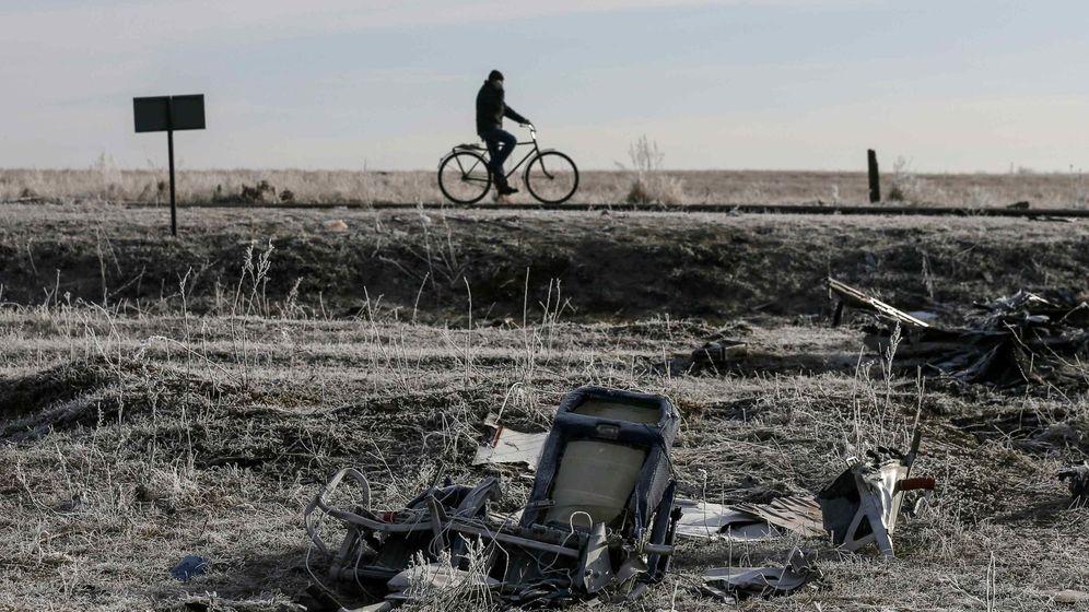 Foto: Imagen de la zona donde cayó el vuelo MH17 de Malaysia Airlines en el este de Ucrania. (Reuters)