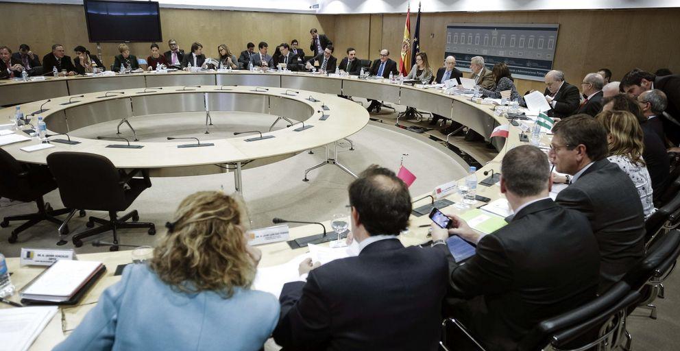 Reunión del Consejo de Política Fiscal y Financiera. (EFE)