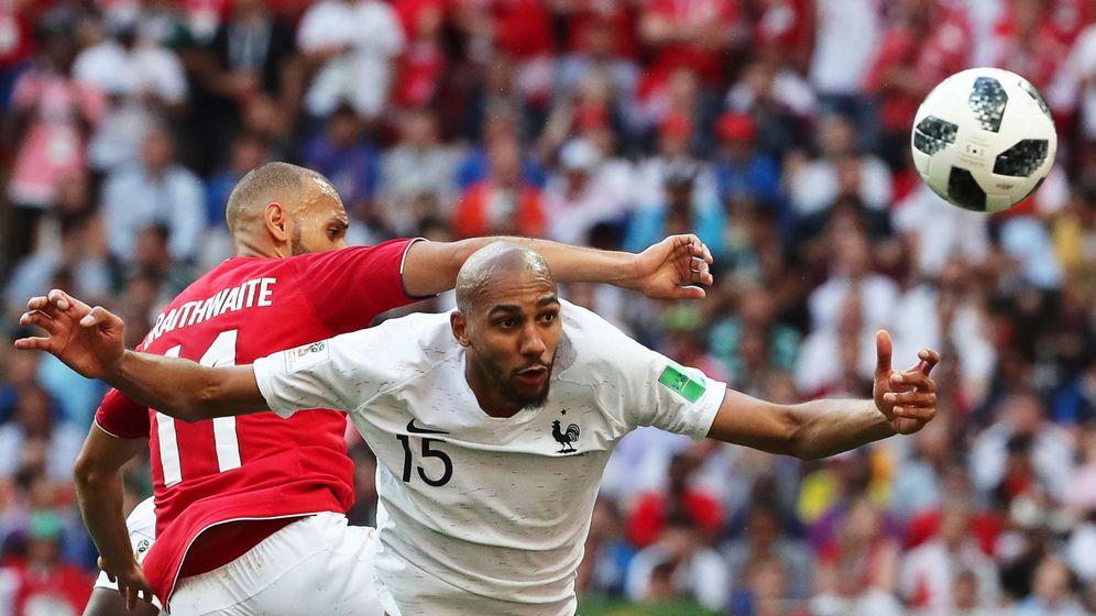 Foto: N'Zonzi durante este Mundial, con Francia. (Reuters)
