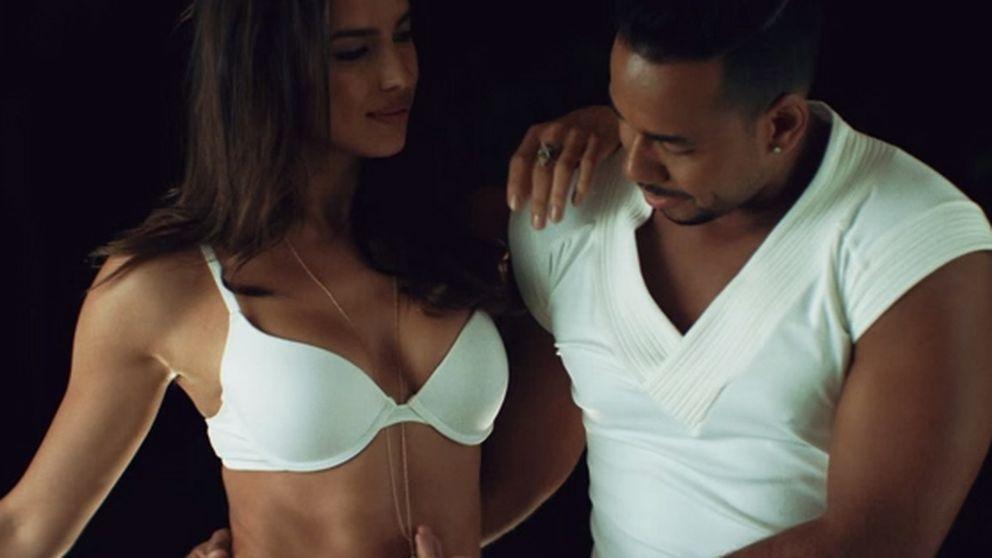 Irina Shayk pone en acción a Romeo Santos