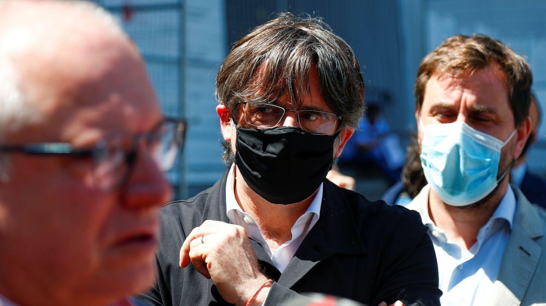 Carles Puigdemont, en Bruselas. (Reuters)