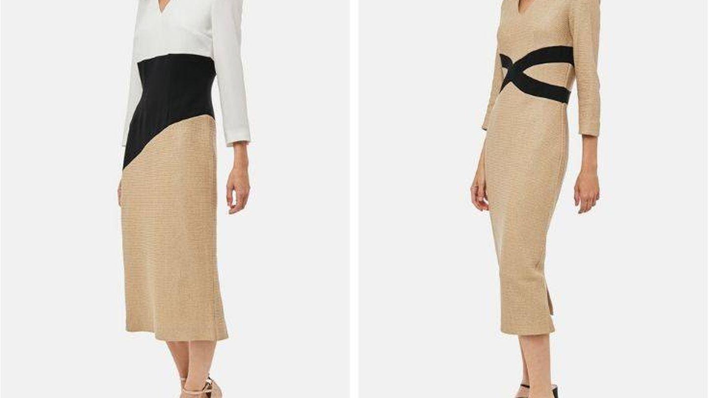 Los dos vestidos que ya habíamos visto de la colección. (Cortesía)