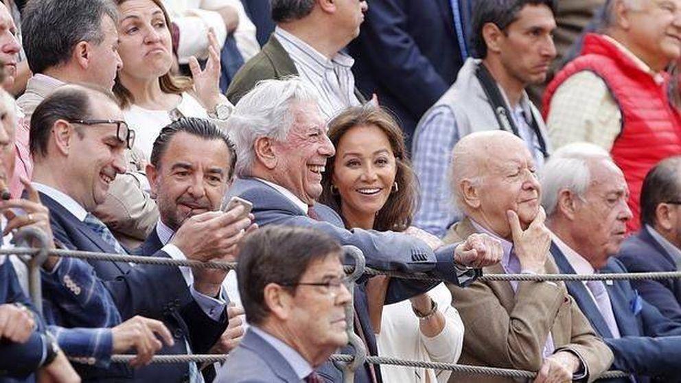 La monumental pitada a Vargas Llosa e Isabel Preysler en las Ventas