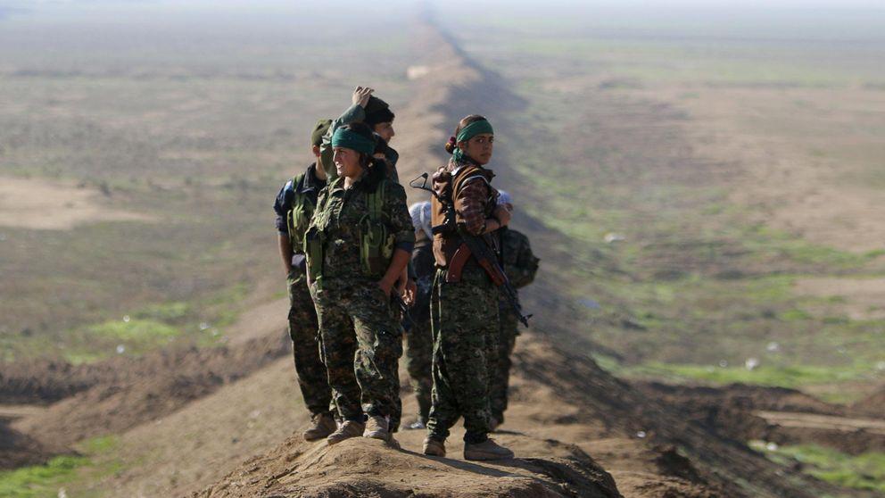 Antígona en la frontera siria