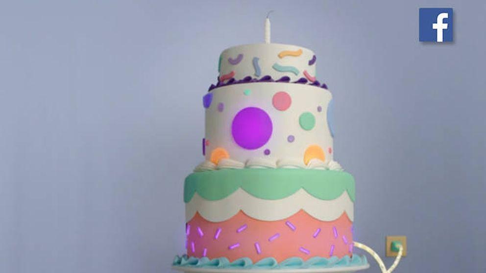 El regalo que te hace Facebook por tu cumpleaños: un vídeo y una tarta llena de mensajes de amigos y familiares