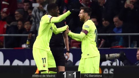 Ahora todos abrazan a Dembélé, que no es el problema del Barça, sino una solución