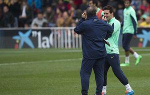 El Tata Martino frena a un 'desatado' Messi para recuperar el liderato