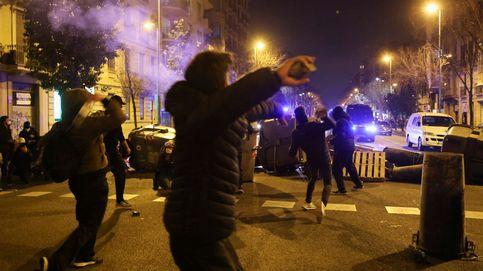 Libertad para ocho detenidos en los disturbios por Hasél en Cataluña