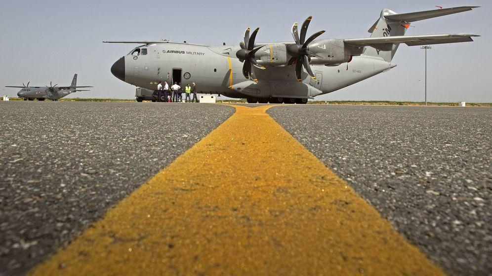 Foto: Un avión A400M de Airbus. (EFE)