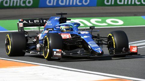 Verstappen recupera el liderato; Alonso (6º) fascina y Sainz (7º) desfallece al final