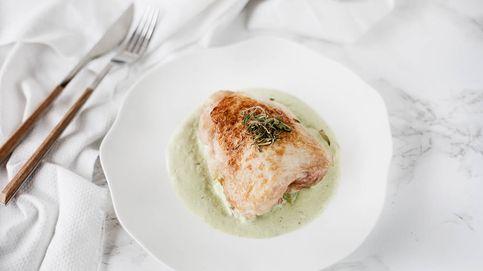 Receta fácil: contramuslos de pollo con salsa de estragón