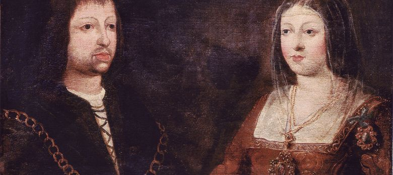 Foto: Retrato de los Reyes Católicos