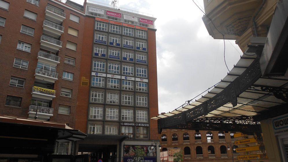 Foto: La sede de Factoo ocupa la décima planta de un edificio en Pasaje Doctor Serra en Valencia.