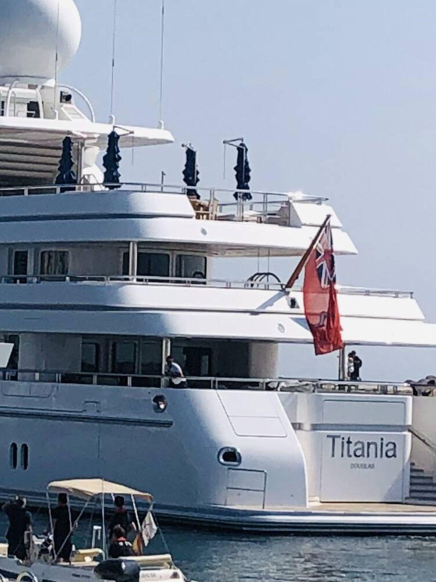 El Titania en Puerto Banús. (Vanitatis)