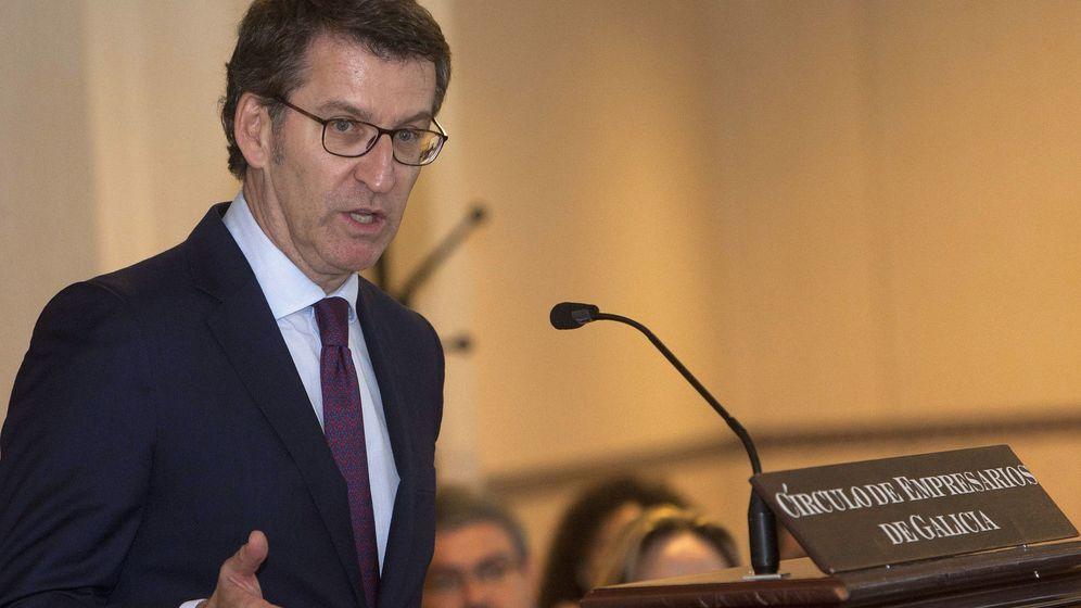 Foto: El presidente de la Xunta de Galicia, Alberto Núñez Feijóo. (EFE)