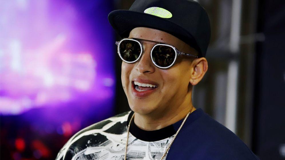 Foto: El artista Daddy Yankee en festival de musica (EFE)