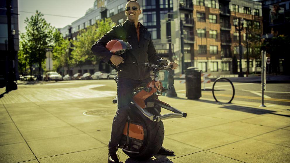 Ryno, la moto eléctrica con una sola rueda