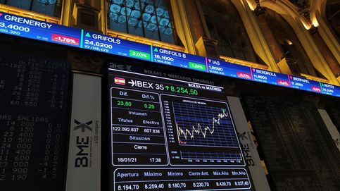 El Ibex 35 recupera los 8.300 enteros a la espera de la toma de posesión de Biden