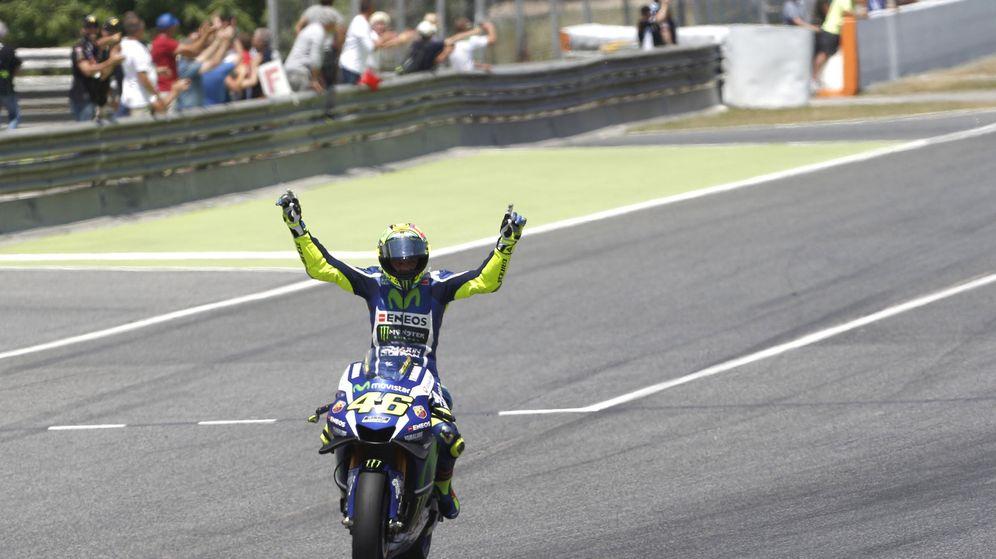 Foto: Rossi no ganaba en Montmeló desde 2009 (Alejandro García/EFE)