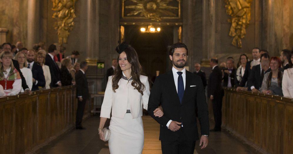 Foto: Amonestaciones de Carlos Felipe y Sofía Hellqvist