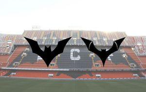 El Valencia no usará el murciélago de Batman tras la queja de DC Comics