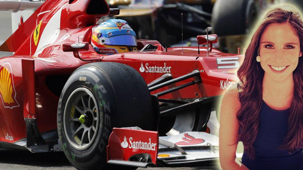 La novia 'fantasma' de CR7 ficha por Antena 3 para la Fórmula 1
