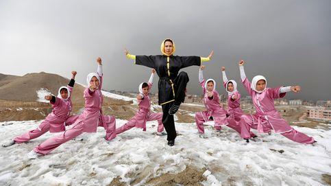 Las mujeres afganas desafían a su sociedad practicando artes marciales