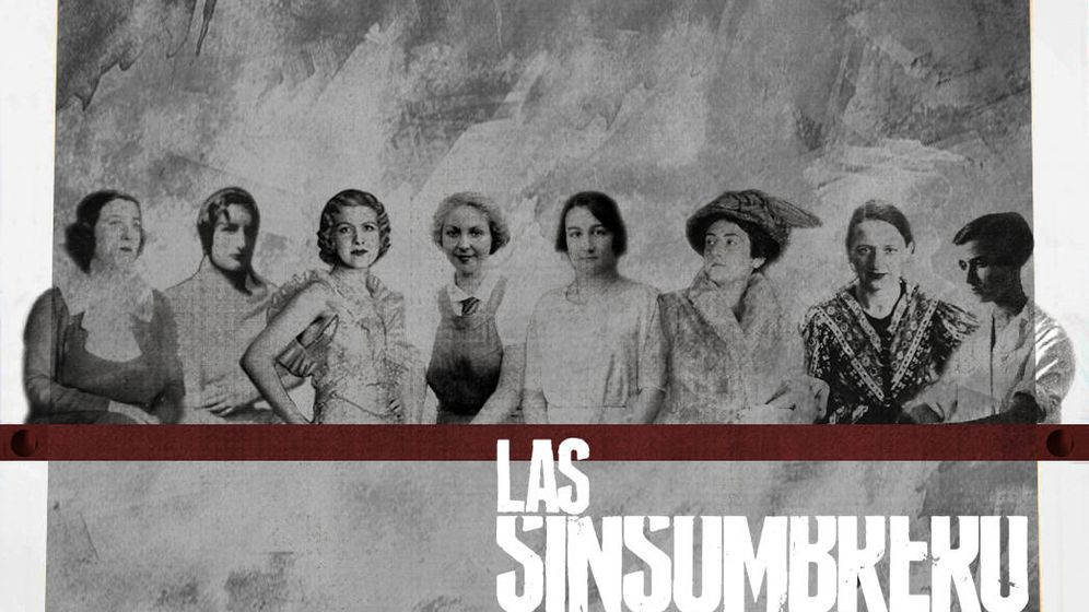 Foto  Reproducción fotográfica de las Sinsombrero. (David Navas Cañedo) e7d8290bb84