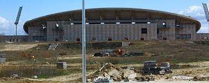 El Atlético de Madrid por fin inicia las obras de su nuevo estadio