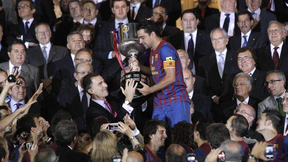 Incómodo estreno de Don Felipe como rey en la final de su Copa