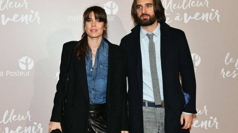 Carlota Casiraghi y Dimitri Rassam, en el estreno de la película 'Lo mejor está por llegar' en Francia. (Cordon Press)