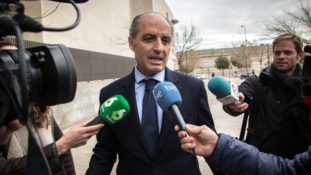 Foto: El expresidente de la Generalitat, Francisco Camps. (EFE)