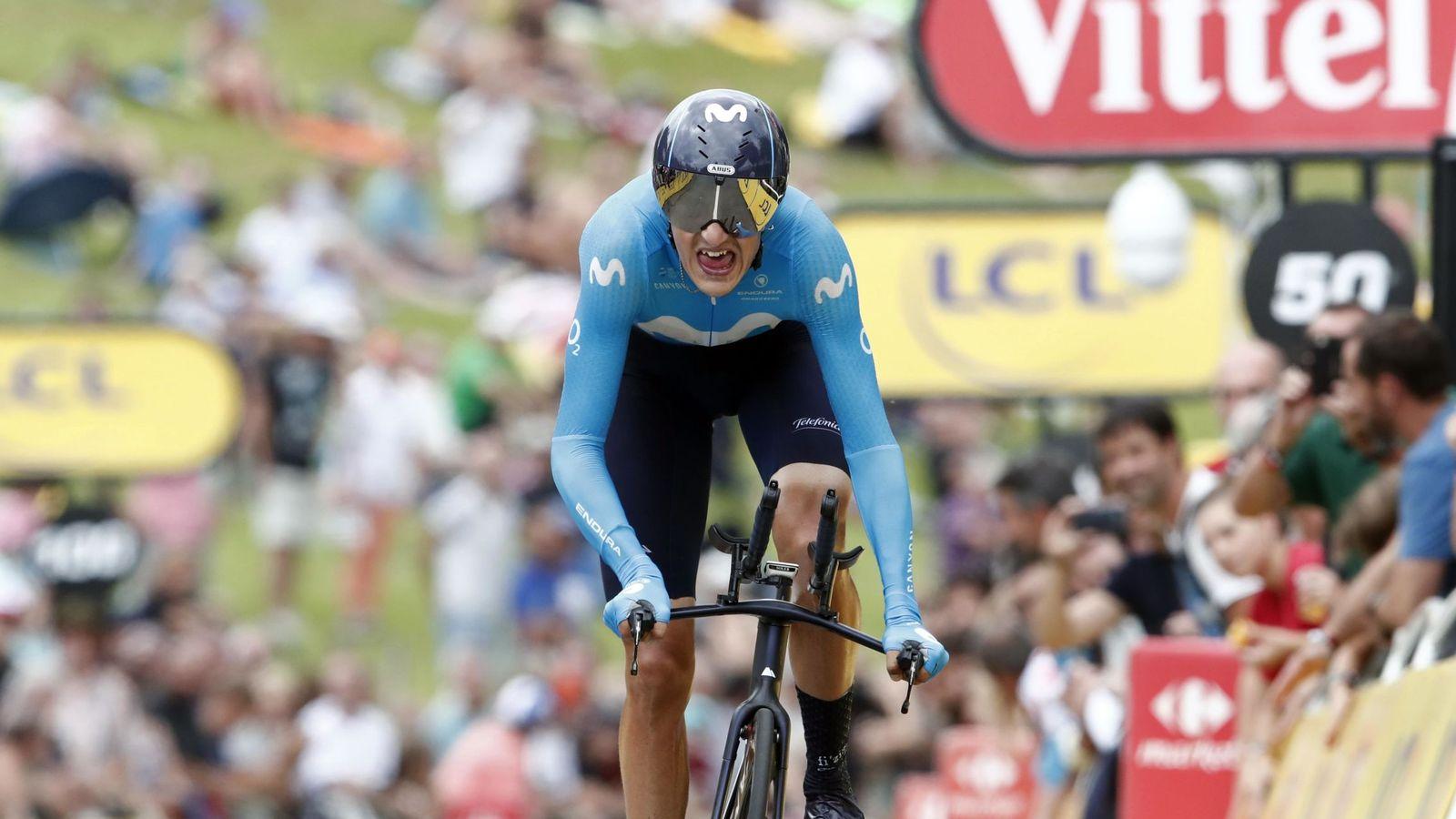Foto: Marc Soler ha debutado este año en el Tour de Francia. Es su segunda carrera de tres semanas, tras la Vuelta a España 2018. (Reuters)