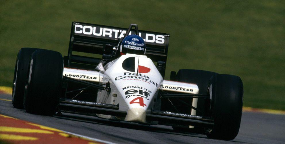 Foto: Philippe Streiff (Frankreich / Tyrrell Renault) en 1986 (Imago)